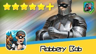 Robbery Bob™ Chapter1 Knight's Armor Walkthrough Invincible Recommend index five stars+