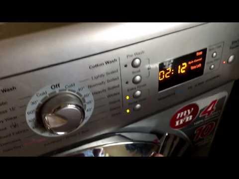 IFB Descaling washing machine process