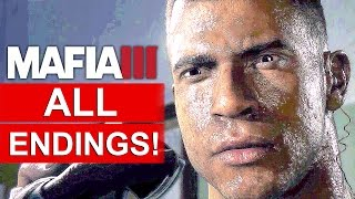 MAFIA 3 ALL Endings And After Credits Ending [1080p HD PS4] - No Commentary