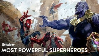 Marvel's Top 10 Most Powerful Superheroes [Updated] | SuperSuper