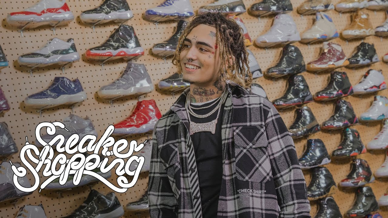 Lil Pump Goes Sneaker Shopping With Complex image