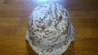 Купил немецкий шлем на барахолке