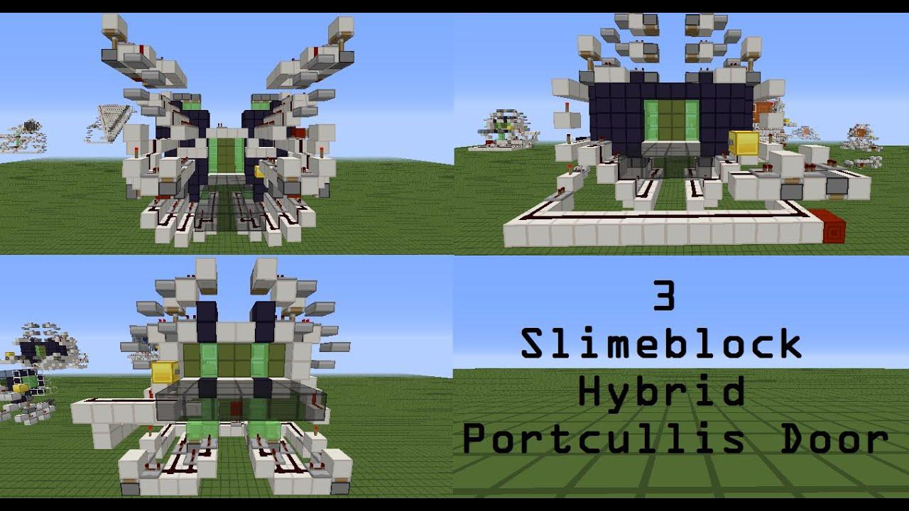 MRC 3 Slimeblock Portcullis Door & MRC: 3 Slimeblock Portcullis Door - YouTube