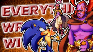Everything Wrong With Sonic and the Secret Rings in 7 Minutes or Less