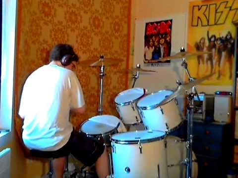 She was hot live (The Rolling Stones) drums cover