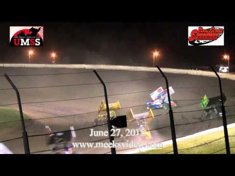 June 28, 2015 UMSS Sprints Deer Creek Speedway