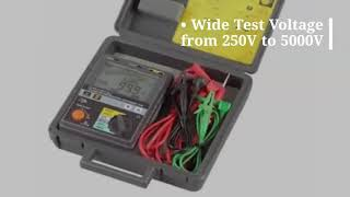 Kyoritsu Digital Insulation Tester Kew 3125a | System Protection