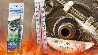 Xado EX120 Dodatki do olejów Analiza Test Tarcia 100°C