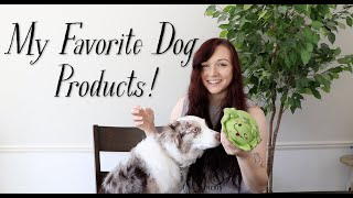 My Favorite Dog Products!