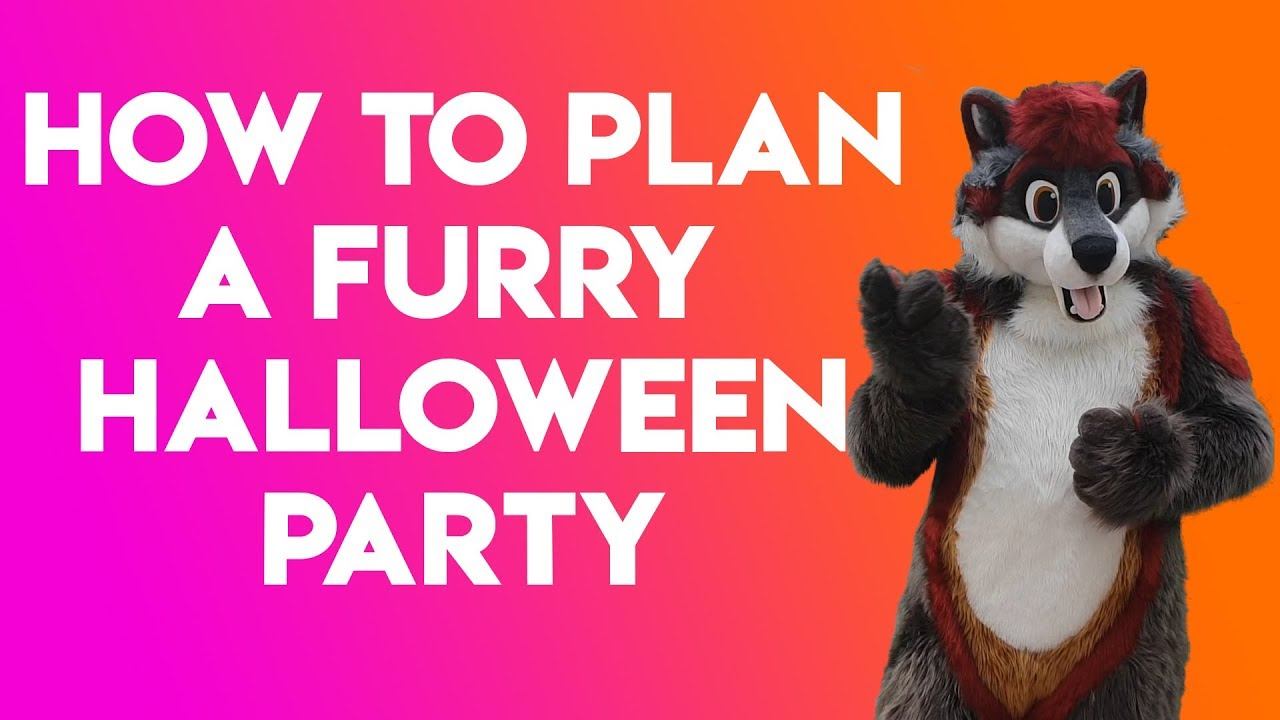 how to host a furry halloween party - youtube