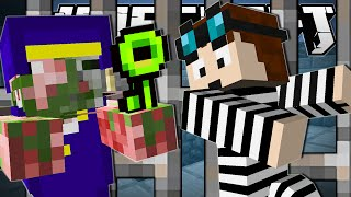 Minecraft | THE GREAT PRISON ESCAPE!! | The Escapists Custom Map [Part 2]