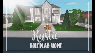 ROBLOX | Bloxburg: Rustic Roleplay Home 52K | Face Reveal