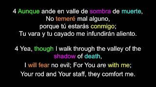 Learn English Spanish / Aprende Inglés Español Salmo 23 / Psalm 23