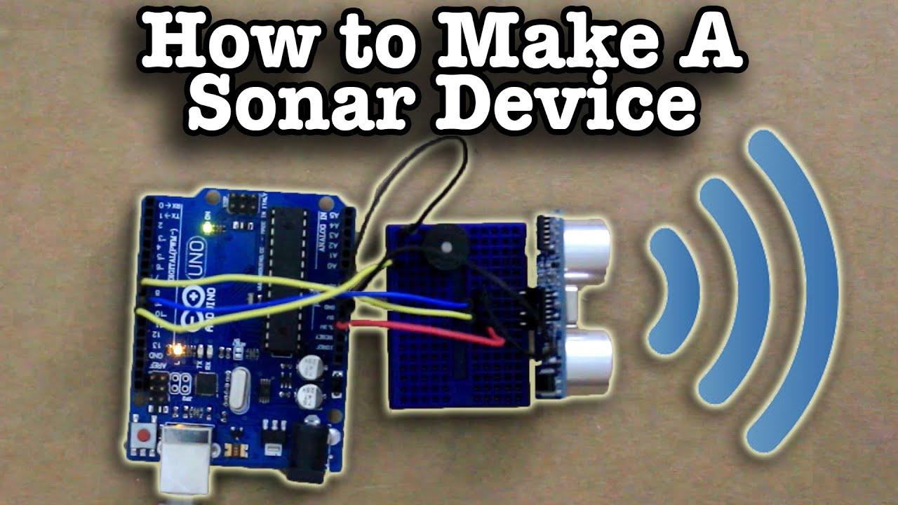 How To Make A Sonar Device Youtube Regulatorforcarsandmotorcycles Basiccircuit Circuit Diagram