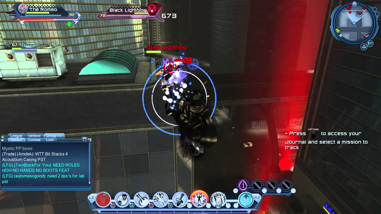 dc universe online defeating black lightning youtube