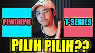 PILIH MANA PEWDIEPIE ATAU T-SERIES? - WOULD YOU RATHER #10