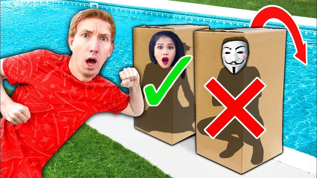 DONT Push Vy Qwaint & CWC into Pool Water Mystery Box Meeting - Project Zorgo Hacker Challenge