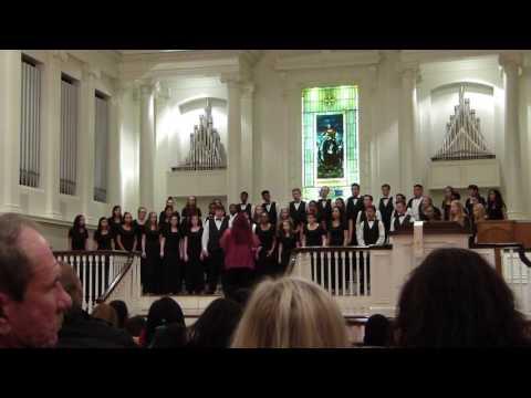 Sleep by Eric Whitacre - Collins Hill High School Chorus