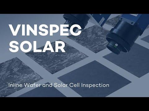 VITRONIC - VINSPEC SOLAR - Inline Wafer and Solar Cell Inspection