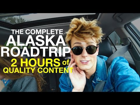 ROADTRIP TO ALASKA COMPLETE - 2 HOUR VLOG! EPIC ADVENTURE