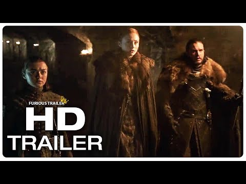 Play GAME OF THRONES Season 8 Official Trailer #1 (NEW 2019) HBO GOT Series HD