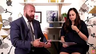 Exclusive q & a with triple h