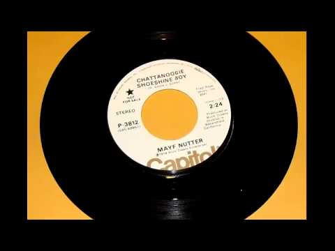 Mayf Nutter   Chattanoogie Shoeshine Boy   1974 B side promo