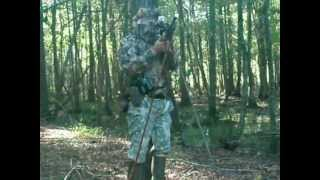 PART 2... Sumatra Pellet Rifle Kills 2 Wild Hogs in SC w/ Eunjin .32 gr. .22 cal pellet
