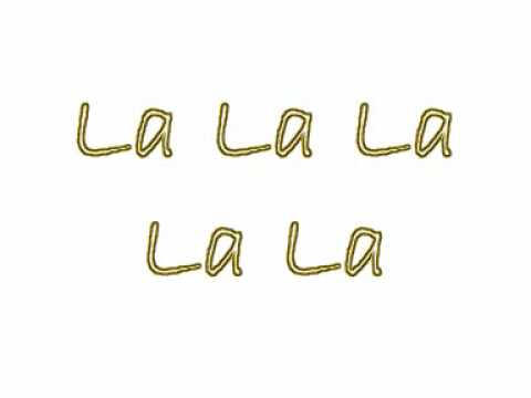 Ashlee Simpson - La La Lyrics