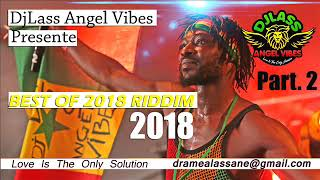 Best Of (2018) Riddims (PART 2) Feat. Jah Cure, Morgan Heritage, Chris Martin, Sizzla (Dec. 2018)