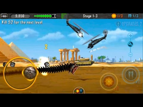 Death Worm Gameplay #3 - iOS/ANDROID