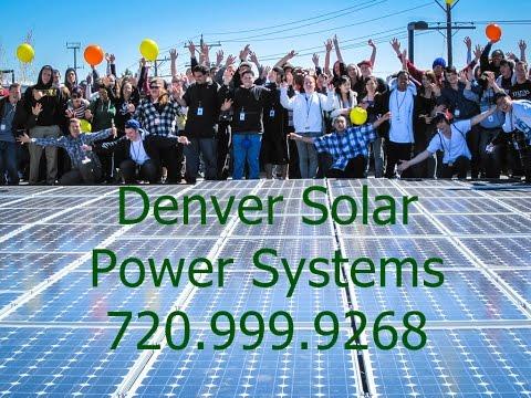 Solar Power Installers Quotes Denver: 720.999.9268