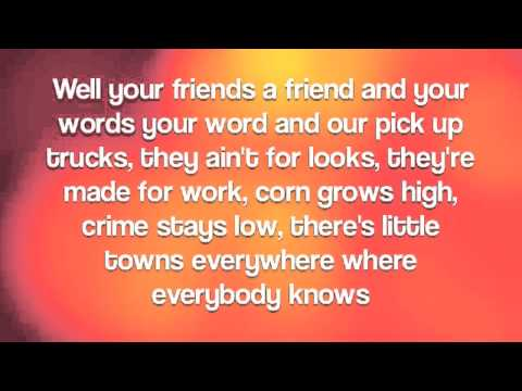 Water Tower Town By Scotty McCreery With Lyrics