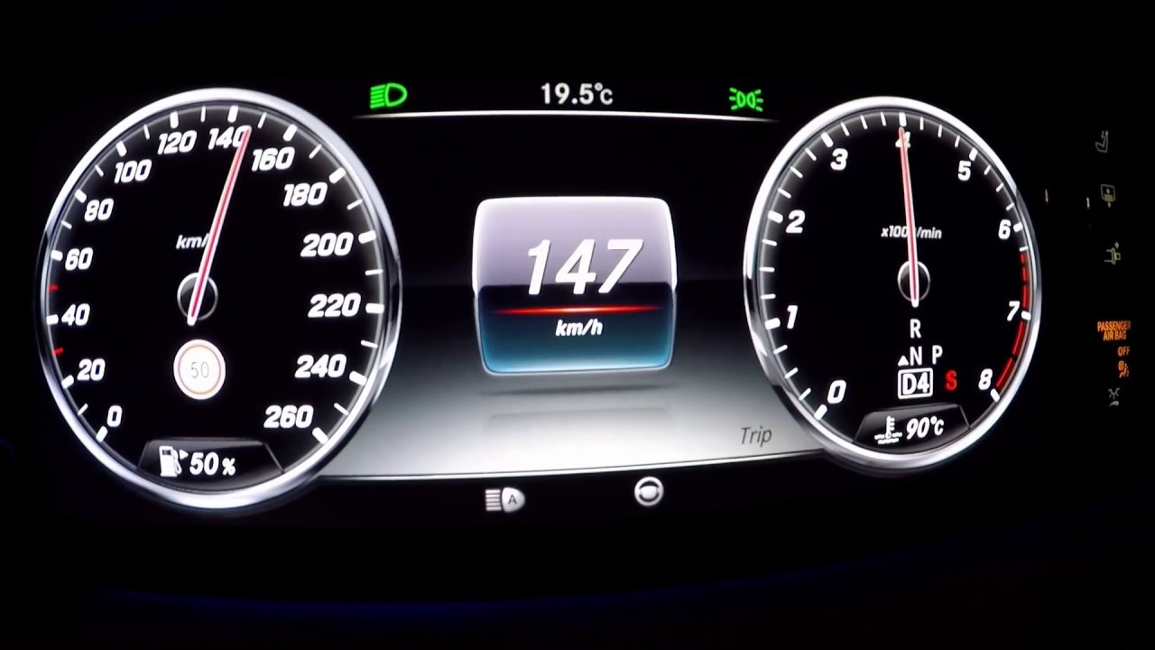 ACCELERATION 0-TOP SPEED 2014 Mercedes-Benz S 500 COUPE 4Matic 335 ...