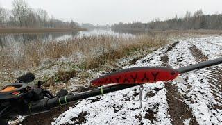 Открытие Сезона Зимнего Спиннинга Рыбалка со Спиннингом с Берега Зимой