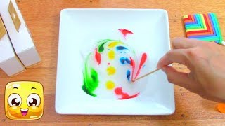 Clear Slime ASMR Coloring and Glitter! Satisfying Slime with Shaving Cream, Paint, Food Colouring!