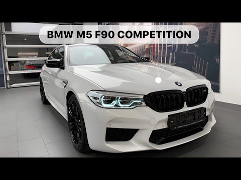 🇩🇪 BMW M5 F90 Competition Individual Brilliant White U21