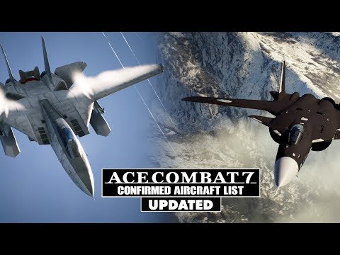 Ace Combat 7: List of All 42 Confirmed Aircraft (2018) Mp3