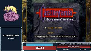 Castlevania: Symphony of the Night by Princess Madelyn in 57:26 - Frame Fatales 2019