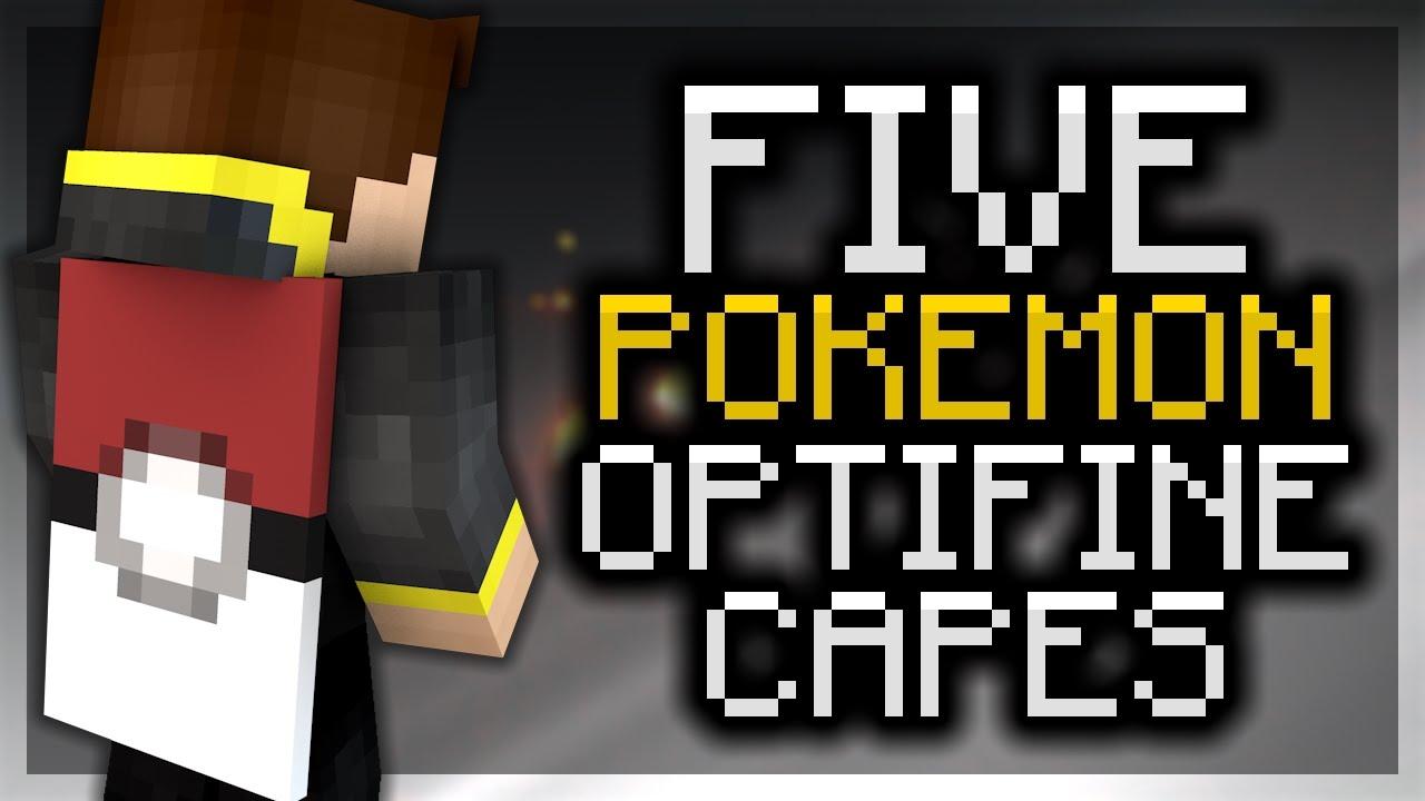 5 pokemon optifine cape