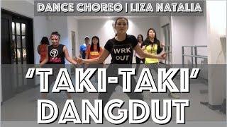 Taki Taki Dangdut || Liza Natalia || ZUMBA®️ Brand Ambassador Indonesia