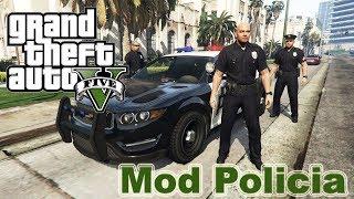 Como Baixar e Instalar o Mod LSPDFR GTA V PC  MOD Policial tutorial completo