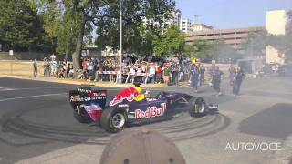 Red Bull Racing F1 Donuts in Downtown Austin
