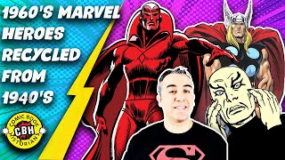 Episode 7. Hero's brought from the 1940s Golden Age to Marvel's 1960s Silver Age.  by Alex Grand