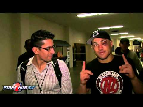 "Eddie Alvarez on Michael Chandler rubber match ""I just want to go fishing"""