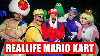 Reallife MARIO KART vs Anni the Duck, Izzi, Brammen und die Space Frogs