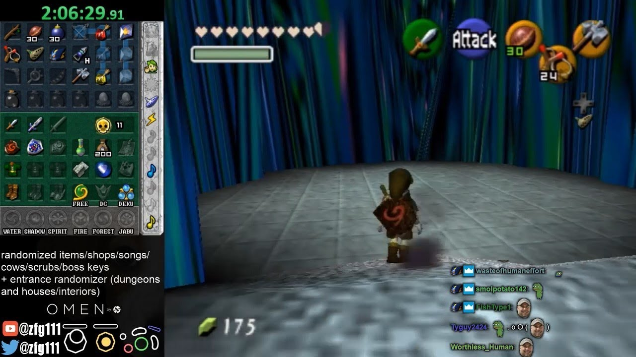 Ocarina of Time Randomizer (With Entrance Randomizer)