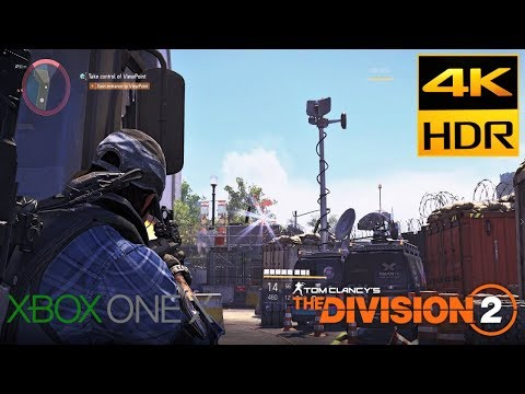The Division 2 Xbox One X 4K HDR Gameplay UHD Walkthrough Part 25 Potomac Relief Camp