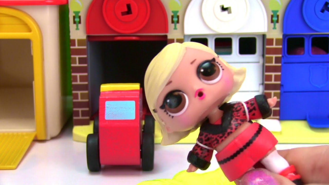 Lol Surprise Dolls Open Fashion Crush Blind Bags With