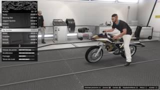 GTA V online custom et test de l' OPPRESSOR une tuerie !! gameplay gta5 mise a jour trafic d'armes
